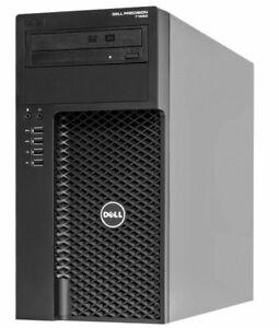 WORKSTATION DELL PRECISION T1650 INTEL CORE i7-3770 16GB RAM 1TB HD NVIDIA QUAD