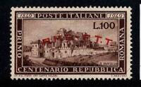 Italien, Triest - Zone A (AMG FTE) 1949 Sass. 41 Postfrisch 100% 100 l, Römisch
