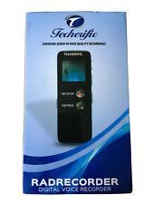 Techerific Radrecorder Digital Voice Recorder/MP3 Audio