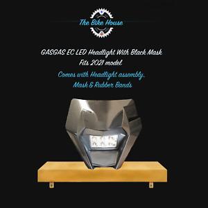 2021 BLACK GASGAS LED HEADLIGHT SUPER BRIGHT EC LIGHT