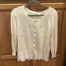 Cato Cardigan Women's with Silver Studs XL