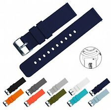BARTON Quick Release Watch Band Strap Width 22mm Navy Blue