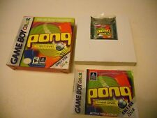 PONG THE NEXT LEVEL GAMEBOY  / Color / Adv/ SP/ Gba Game boy Colour GAME