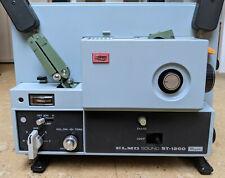 Elmo Sound ST-1200 Super 8 Filmprojektor Schmalfilm Film