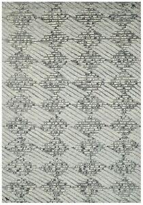 10X14 Modern Manhattan Brand Hand-Knotted Area Rug Contemporary Carpet