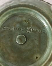 Vintage Atlantic Mold Green Planter