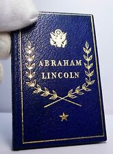 Miniature Book: Abraham Lincoln, Selections From His Writings, pub. St Onge 1950