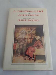 A Christmas Carol by Charles Dickens Rackham Weathervane Books - 1977 hardcover