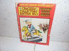 Vintage Cracked Magazine  Collector's Edition No. 5