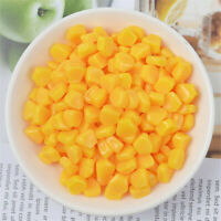 5x9x10mm Mini Resin Corn Kernels DIY Handicraft Flatback Cabochons Decor 20 pcs