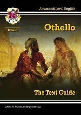 A Level English Text Guide - Othello by CGP Books (Paperback, 2011)