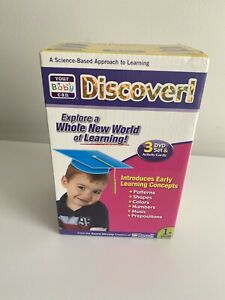 Your Baby Can Discover! Explore A Whole New World of Learning 3 DVD Set 1 year +
