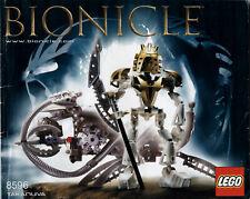 Lego Bionicle # 8596 Takanuva - Bauanleitung (keine Steine!)
