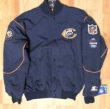 VTg NFL Chicago bears starter Snap Front jacket/Coat- Large-Player Of The Year!