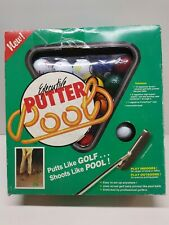 Vtg New Executive Putter Golf/Pool set 1991 Work on your putting skills indoors