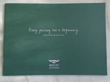 Bentley range brochure 2012 Russian text small format