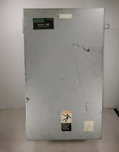 1 USED ASCO 165A20100 F3XF AUTOMATIC TRANSFER  SWITCH 100A ***MAKE OFFER***