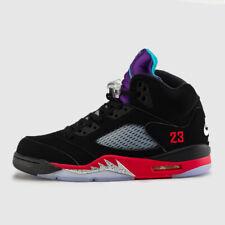 Nike Air Jordan Retro V 5 TOP 3 Grape Fire Red CZ1786-001 Metallic Black 4y-13