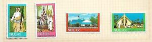 Niue 1974 Self Government set of 4 Mint Hinged on Album page