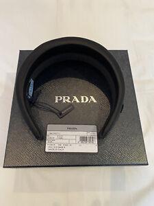 BRAND NEW Prada Satin Headband (Black)