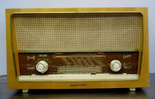 vintage 60s  - GRAETZ Melodia M 818 Röhrenradio Eschenholz Gehäuse 1959-60