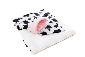 WATERPROOF Guinea Pig Fleece Liner Set For C&C Cage and Ferplast Cage.Cow