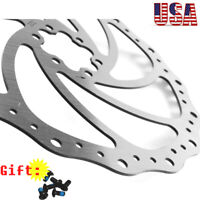 140/160/180/203mm MTB Bike Front & Rear Disc Brake Rotor Stainless Cycling Rotor