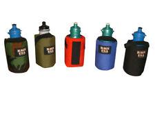 Bottle holder for 22 oz bottle attaches to your belt or fanny pack or Backpack.