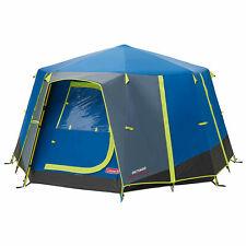 Coleman Octago 3 Mann Zelt Bett Camping GLAMPING Festival Garten Caravaning BBQ