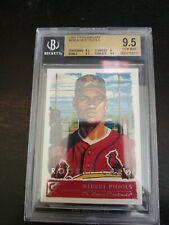 2001 Topps Gallery Albert Pujols St. Louis Cardinals135 Baseball Card BGS 9.5 RC