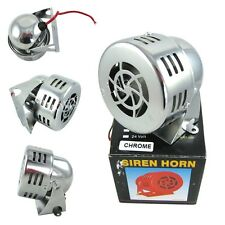 "3""12V Car Truck Driven Air Raid Siren Alarm Loud Sound Fire Security Rescue Horn"