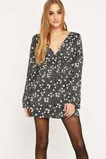 Women's Long Sleeve V Neck Floral Jumpsuits & Playsuits