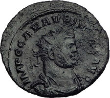 CARAUSIUS 289AD RARE London Mint Authentic Ancient Roman Coin PAX Peace i63983