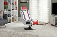 Used X-Rocker Esports Pro Gaming Chair - Red/White-GO91.