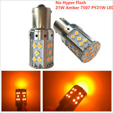 CAN-bus 21W Amber 7507 PY21W LED Bulbs Fit Turn Signal Light Tail Light