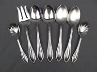 Lot of 7 Mixed Arbor American Harmony Stainless Serving Pieces