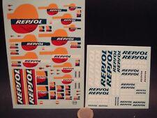 "DECALS 1/24  LOGOS "" REPSOL "" - VIRAGES  T131"