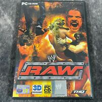 WWE Raw PC Game Complete CD-Rom THQ Wrestling