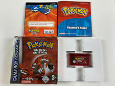 Pokemon Rubin Edition - Nintendo GameBoy Advance / SP DS deutsch in OVP CIB #15