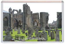 Elgin Ruins - Moray - Scotland - Jumbo Fridge Magnet Souvenir Gift