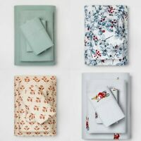 Holiday/Christmas Flannel Sheet Set - Twin/Full/Queen/King - Threshold - NEW