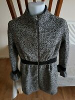 MOSCHINO WOMENS COAT-CARDIGAN LANA WOOL SIZE 12UK.MADE IN ITALY
