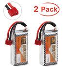 1PCS / 2PCS 1500mAh 11.1V 3S LiPo Battery 40C Deans T Plug for RC Car Auto Truck