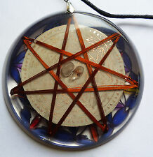 7 Archangels FLower Of life 7 Vortex Resonator Metayantra Pranic Device, ORGONE