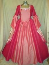 """Tudor Renaissance Anne Boleyn Medieval Gown Dress Your Sz Choice Busts 32""""- 46"""""""