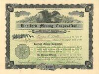 Hartford Mining Corporation > 1904 Arizona Preferred old stock certificate share