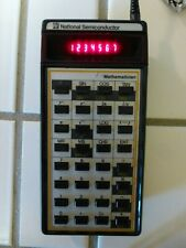 National Semiconductor Mathematician Calculator Red LED 1977