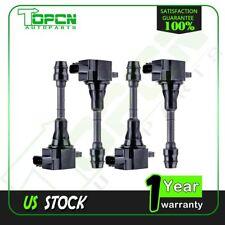 Ignition Coil set of 4 for 02 03 04 05 06 Nissan Sentra 2.5L l4 C1398 UF350