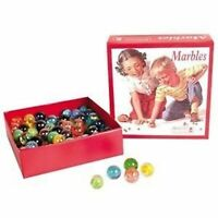 RETRO RANGE TOYS AND GAMES MARBLES 50 TOTAL NEW IN BOX C#1