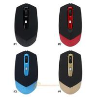 Wireless Mouse 2.4GHz 1600 DPI Optical USB 4 Key for PC Laptop Notebook lot